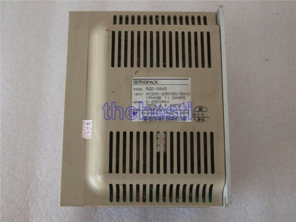 1 PC Used Yaskawa SGD-08AS Servopack Servo Drive In Good Condition
