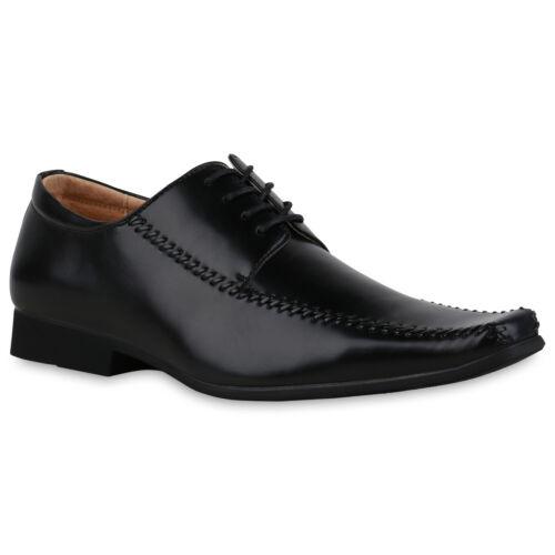 Herren Slippers Holzoptik Blockabsatz Business Schuhe 835143 Trendy Neu