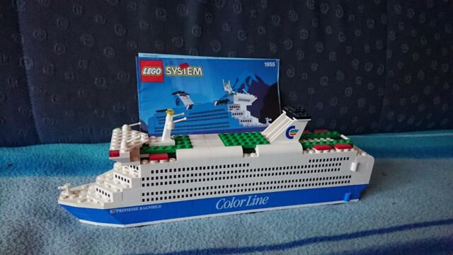 COBI Legosteine kompatibel Fähre Ferry Schiffsmodell Color Line