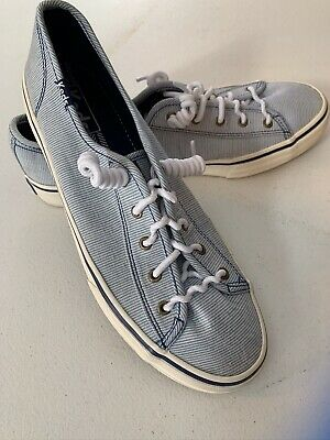 Keds Canvas Sneakers WF53085 Blue And