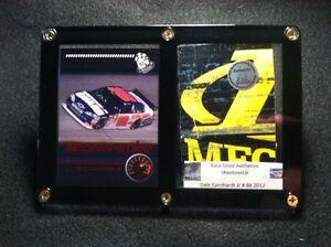 Dale-Earnhardt-Jr-Card-Display-Race-Used-Metal-from-his-Race-Car-at-Darlington