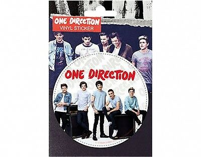 ONE DIRECTION amps 2013 circular VINYL STICKER official licensed merchandise 1D