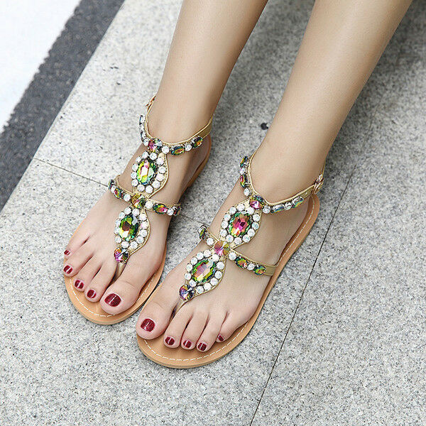 Sandali eleganti bassi infradito colorati leggeri comodi simil pelle  9927