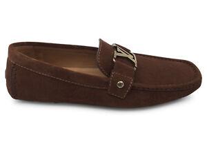 4958a246c35 NEW Authentic Louis Vuitton Men s Monte Carlo Car Shoe Loafer 7 7.5 ...