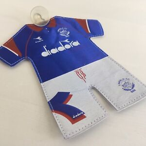 RARE-Vintage-Belfast-Linfield-Car-Pennant-From-Mid-90-s-Ulster-Glasgow-Rangers