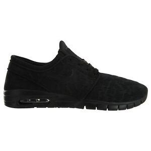8f46cd79a3d Nike SB Stefan Janoski Max Mens 631303-099 Black Skateboarding Shoes ...