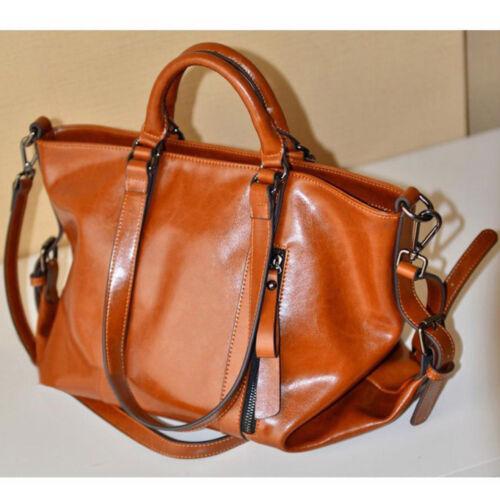 NEW Women Leather Shoulder Bag Tote Purse Handbag Messenger Crossbody Satchel #