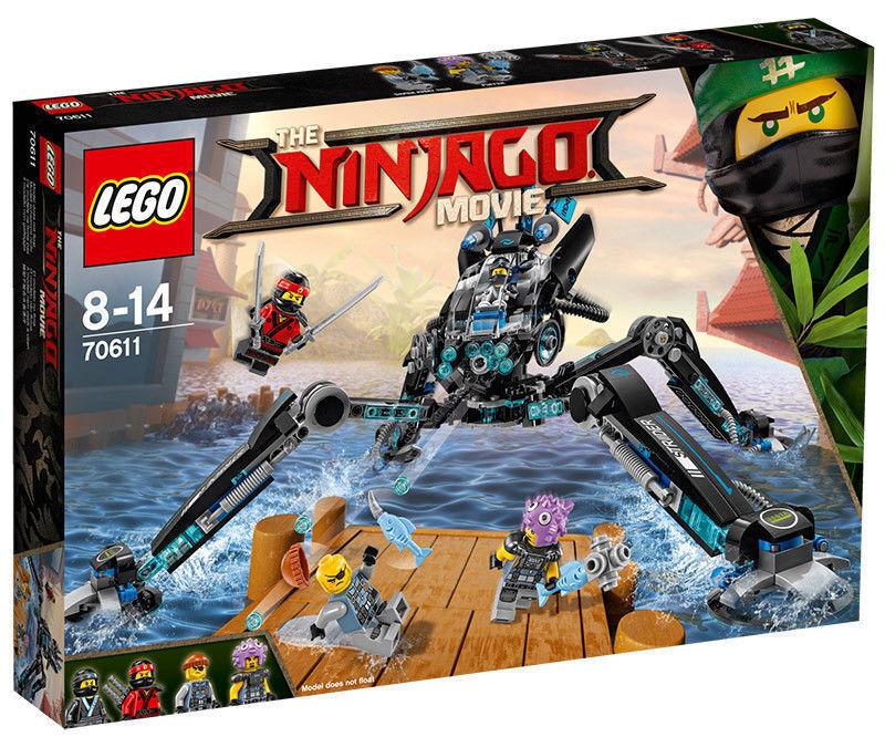 LEGO NINJAGO MOVIE IDROPATTINATORE - LEGO 70611