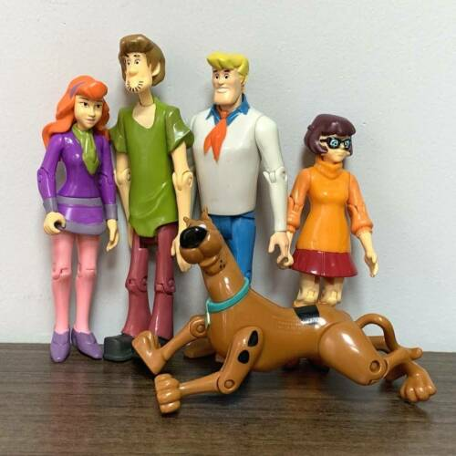 "Lot 5 Pcs Scooby-Doo Daphne Velma Shaggy Dog Fred 5/"" figurines d/'action jouet"