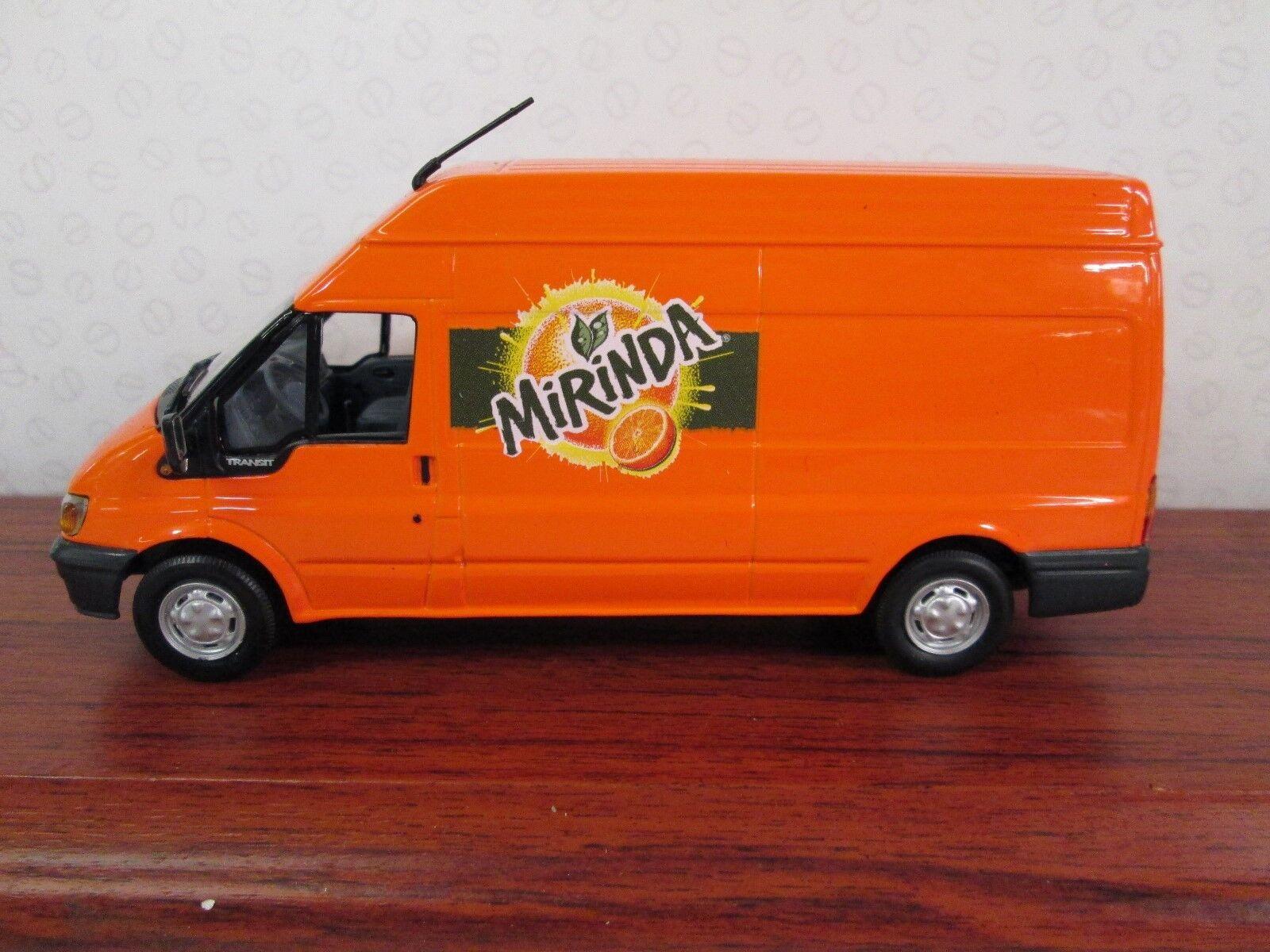 MINICHAMPS. Ford Transit Van 2000. 1 43. Miranda. Ltd Ed. orange. 430 089301.