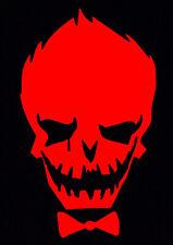 Red Joker Decal Car Sticker Laptop Dc Comics Harley Quinn Suicide Squad