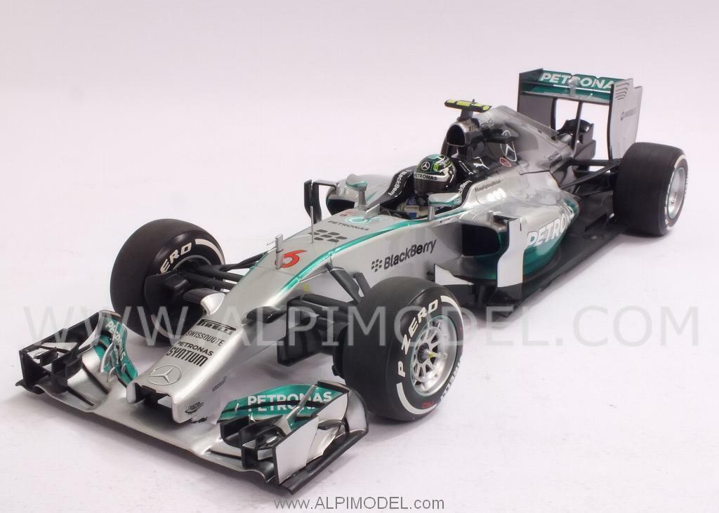 Mercedes F1 W05 Winner GP Australia 2014 Nico Rosb 1 18 MINICHAMPS 110140006