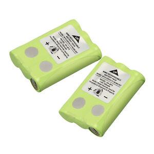 2PCS-3-6V-700mah-Batteries-for-Cobra-PR145-150-155G-Walkie-Talkie-2-Way-Radios