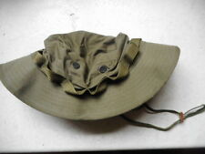 MADE IN USA OG 107 green BOONIE JUNGLE HAT new L 7 3/4 VIETNAM WAR US ARMY