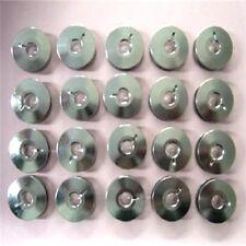 20 ALUMINUM BOBBINS JUKI TL-98Q TL-2010Q / JANOME 1600P SERIES SEWING MACHINES