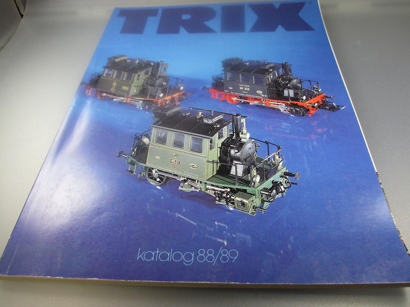 Trix  Katalog 88 89  (Korb1)