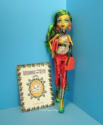 Monster High Scare~Mester Jinafire Long Doll New Removed From Box Loose