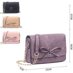 90cf5bf272 New Womens Small Designer Style Cross Body Bag Ladies Tote Shoulder ...