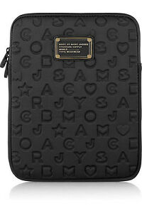 Marc-by-Marc-Jacobs-Black-Dreamy-Logo-tablet-protective-sleeve-case-zipper-bag
