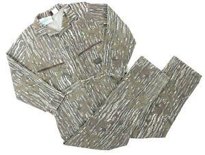 VTG Liberty Men Large Long Sleeve Coveralls RealTree Camouflauge USA 50/50