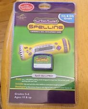 Turbo Twist Spelling Cartridge & Developing Guide 4 & 5th Grade Ages 10 & up