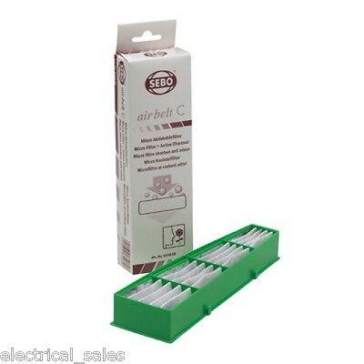 SEBO X4 Extra Aspirateur échappement Filtre 5143 /& 5036ER Micro Kit de Filtre