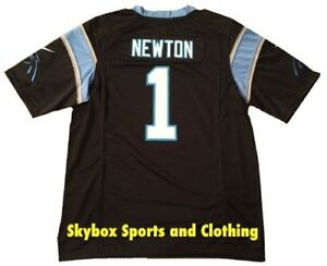 6268941a6407f New - Carolina Panthers Cam Newton Home Football Jersey - Boy s Size ...