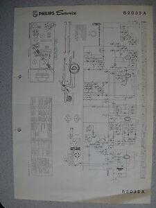 Philips-B2D33A-Schaltplan-Ausgabe-11-63