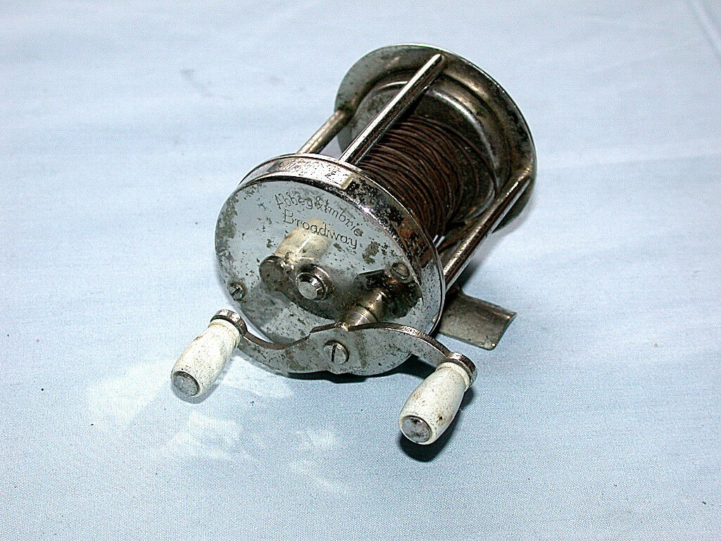 Beautiful Antique Abey & Imbrie Broadway Model Fishing Reel