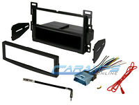 Car Stereo Radio Kit Dash Installation Mounting Trim Bezel With Wiring Harness on sale