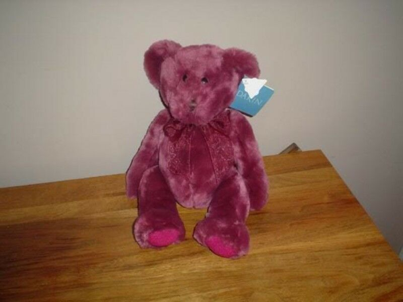 Dakin Teddy Bear Plush 14 Inch pink Light pink Scented All Tags 1990s