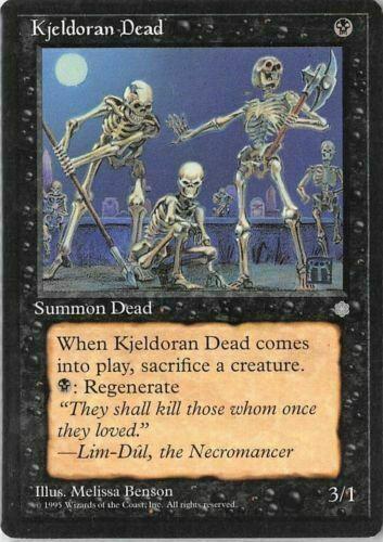 Ice Age MTG Magic LP 1x Kjeldoran Dead