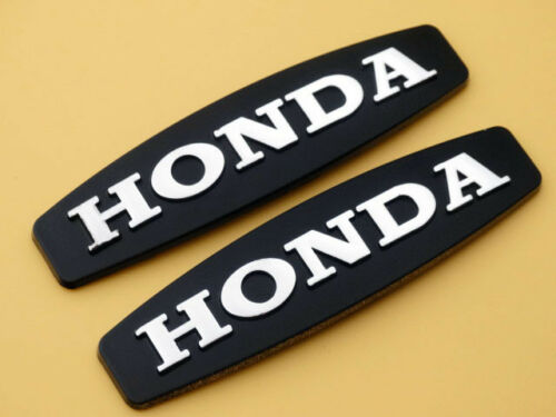 2pcs Motorcycle ABS Emblem Badge Decal Sticker for Honda Gas Tank Faring 90mm MT