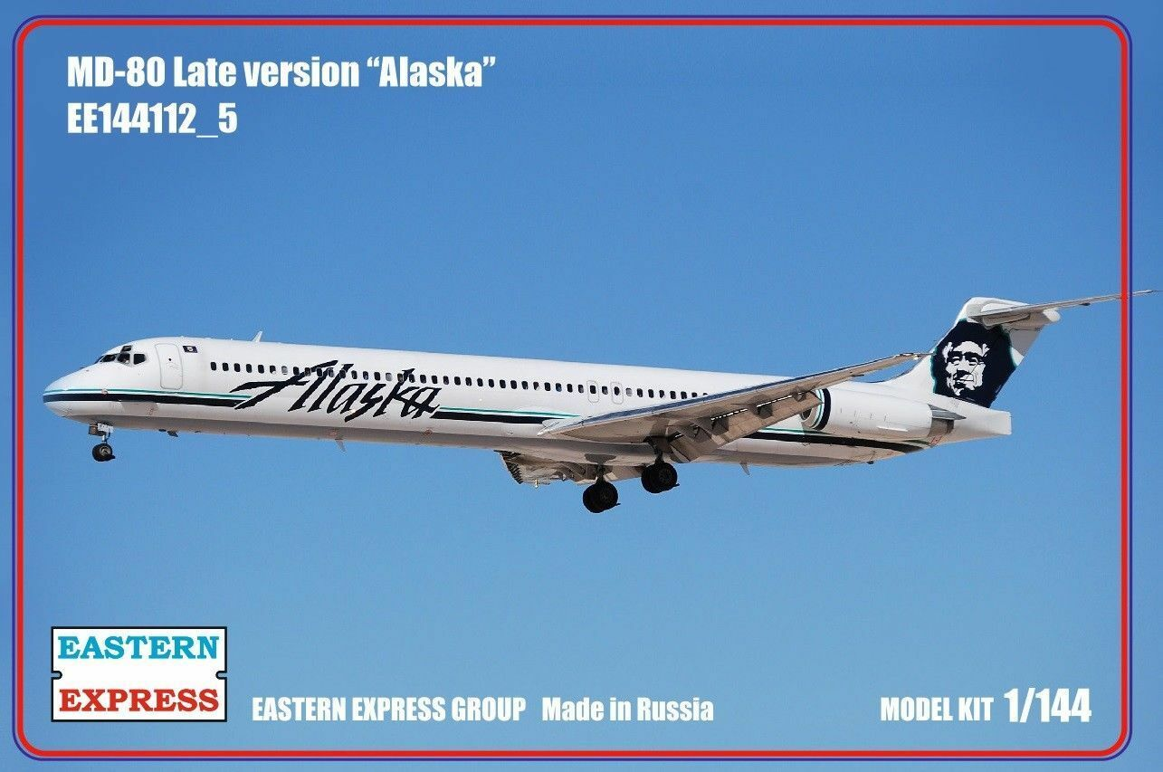 Eastern Express 1  144 McDonnell Douglas MD -80 Late Version Alaska Airlines