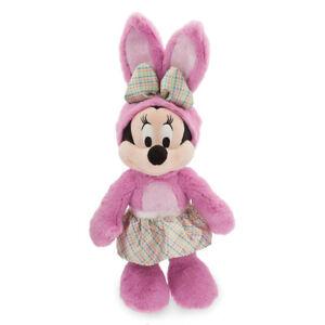 Disney Store Minnie Mouse Easter Bunny Jouet De Peluche Rose 2018