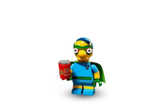 LEGO Minifigures Series Simpson Serie 2 Milhouse Supereroe n°6