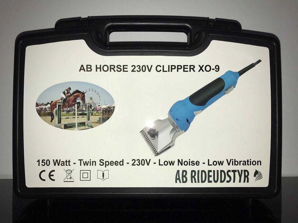 Hesteklipper, Horse clipper XO-9 demo model, som ny!