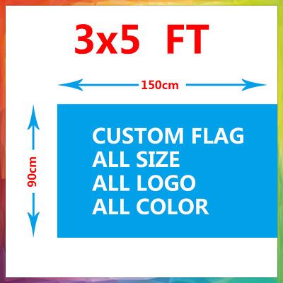 Custom 3/'x5/' Full Color Single Sided Custom Flag Factory Direct~US Seller SALE