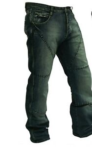 Motorcycle-Jeans-TROUSERS-Hornee-SA-M4-Relax-Fit-Burnt-Blue-Short-Leg