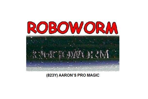 Roboworm SF-823Y Aarons Magic Pro 6 Inch - BULK LOT 173 Soft Plastic Baits