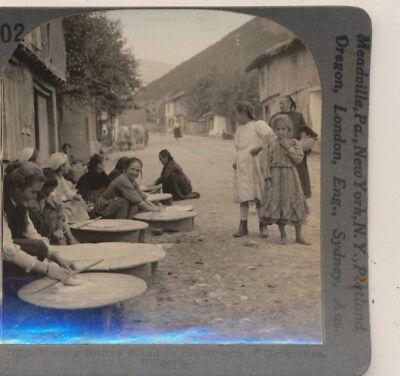 Bulgaria from 1920's 400 Set #203 Keystone Stereoview a Sidewalk Coffee House