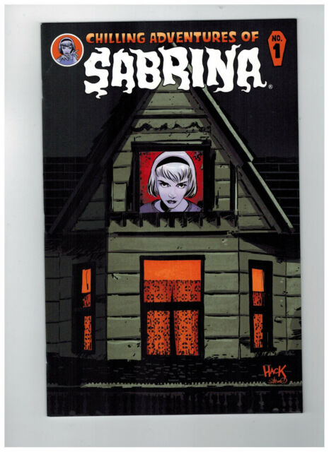CHILLING ADVENTURES OF SABRINA #1  1st Printing - Die-Cut Cover    / 2014 Archie