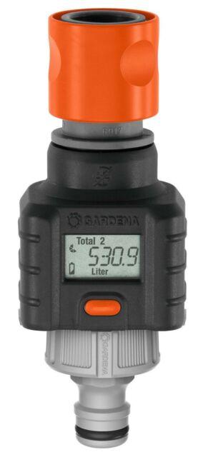GARDENA WATER SMART FLOW METER G8188 Accurate Quantification *German Made