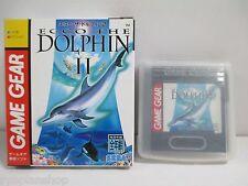 GAME GEAR -- ECCO THE DOLPHIN II 2 -- SEGA JAPAN. Clean & Work fully!14807