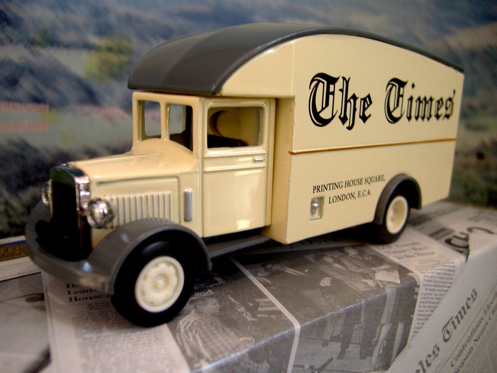 orden ahora disfrutar de gran descuento Matchbox    poder de prensa  Morris Van 1931  London Times   mejor reputación