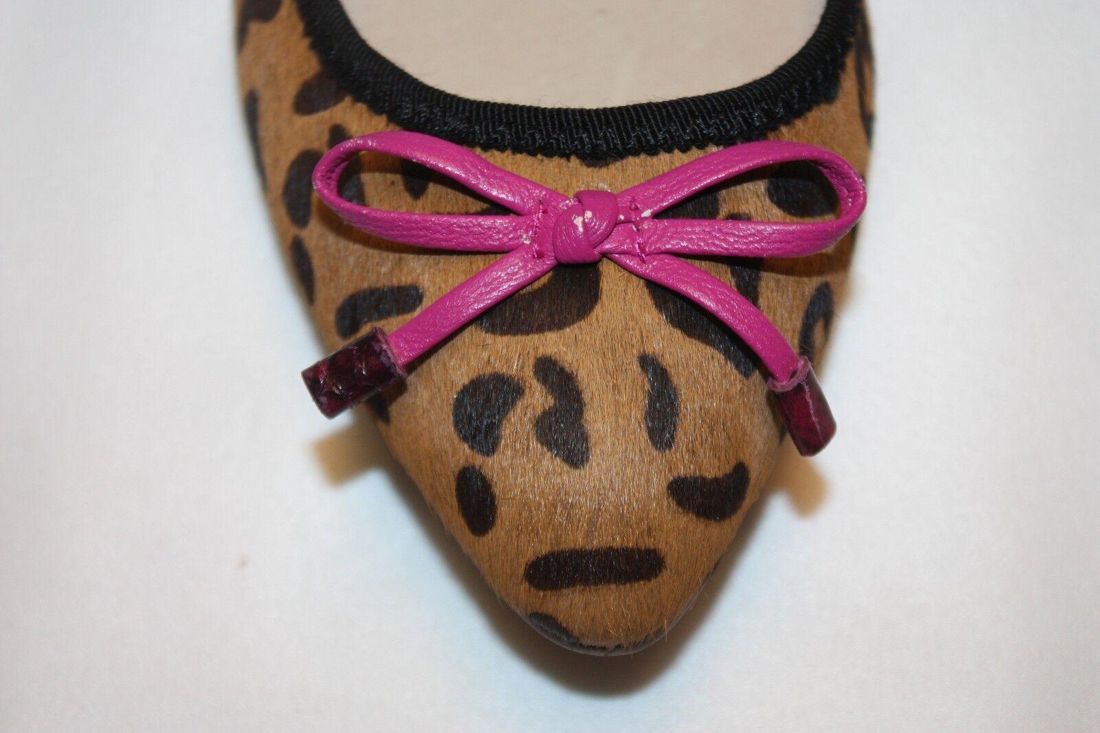 nuevo nuevo en caja Juicy Couture Multi  Cheetah impresión haircalf Scarlett Ballet zapatos  Multi sin Taco Sin a4f901