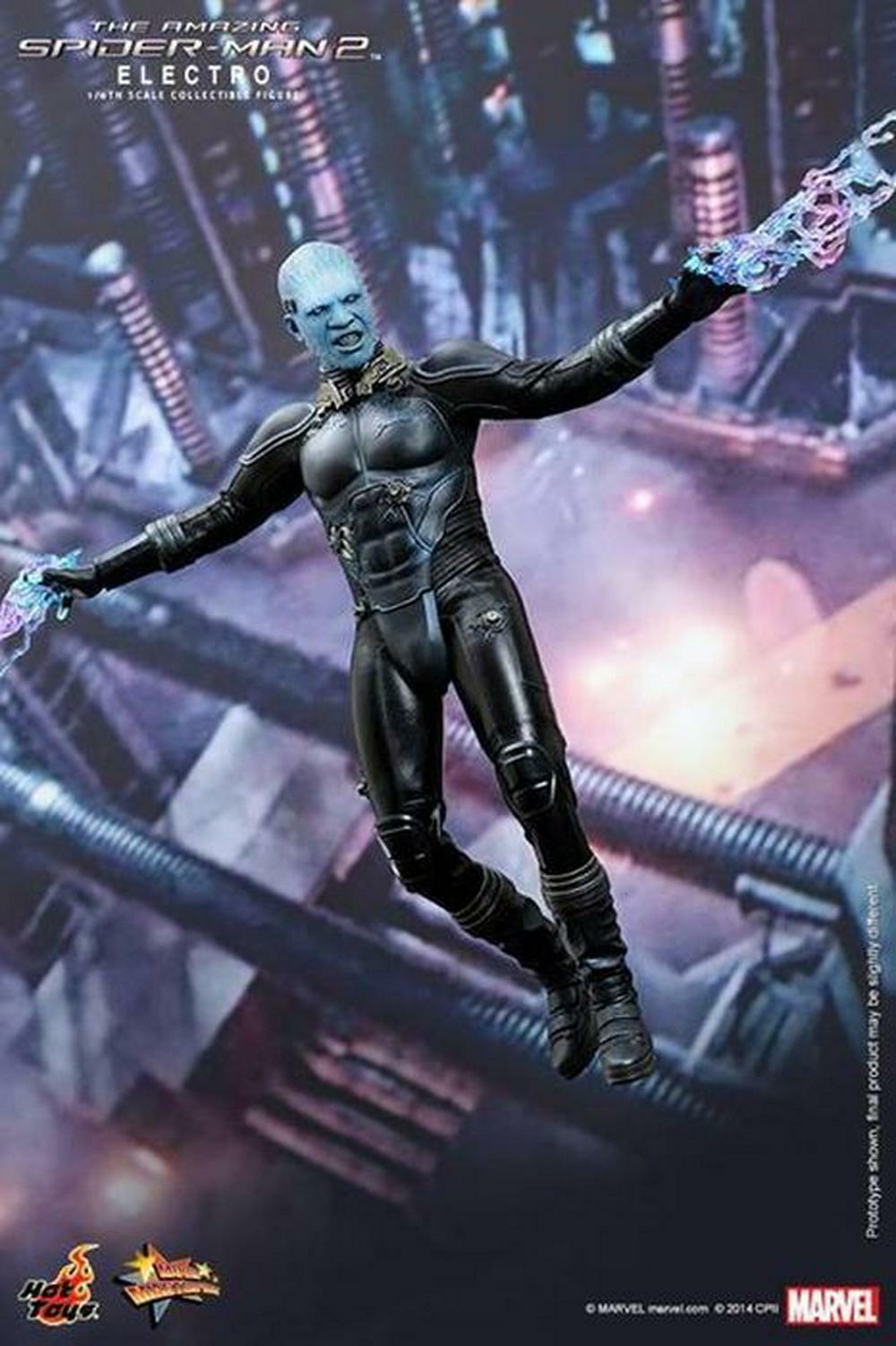 Den Fantastiska Spindelmannen 2 - Electro 1 6 skala Figur -- heta leksaker fri Shipping
