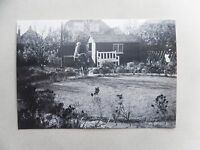 1950s B/W Photograph. Back Garden 46 Montrose Ave, Welling. Motorised Bicycle