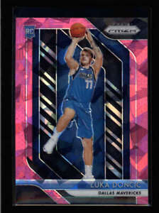 LUKA DONCIC 2018/19 PANINI PRIZM #280 PINK ICE PRIZMS ROOKIE RC (READ) FC9552