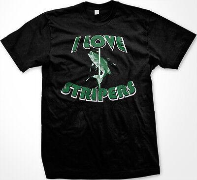 Love Striped Bass Tee Shirt Striped Bass T Shirt
